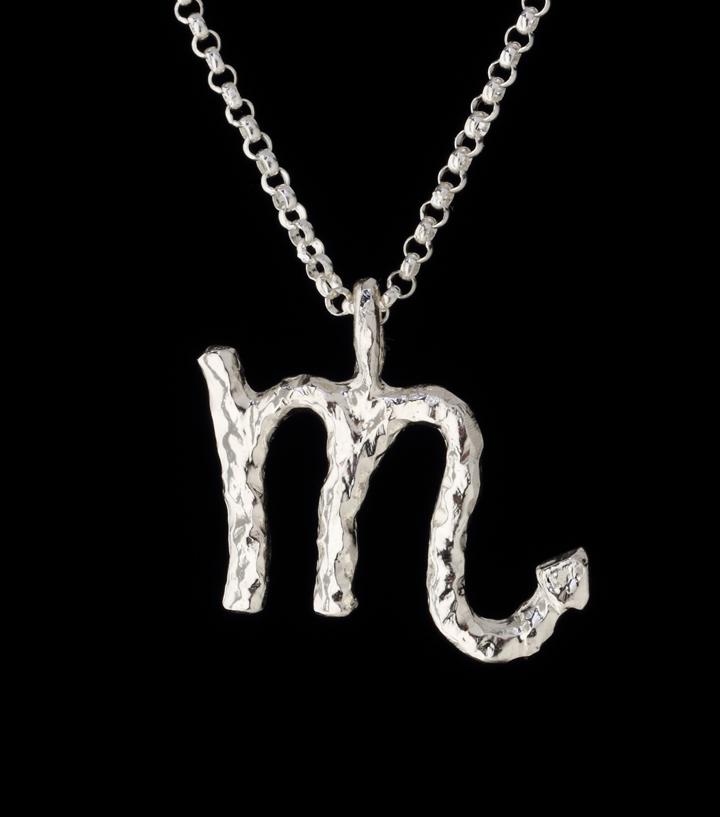 scorpio zodiac pendant