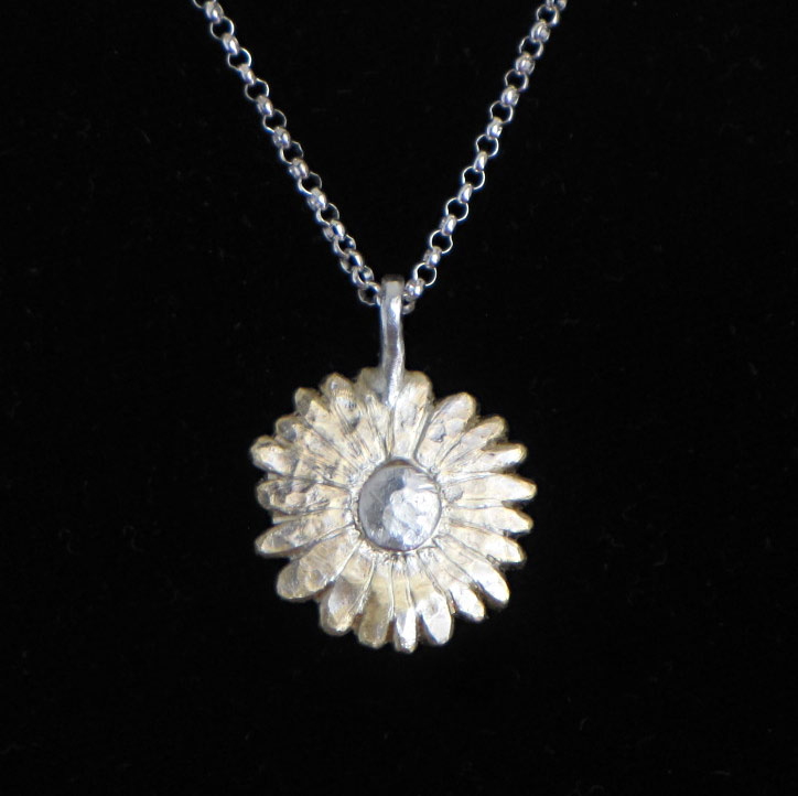 new sunflower pendant