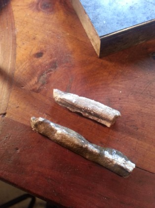 silver ingots ready to roll
