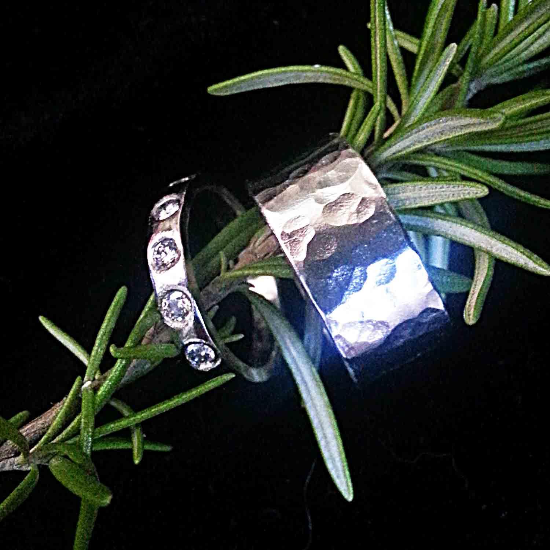 platinum wedding ring set