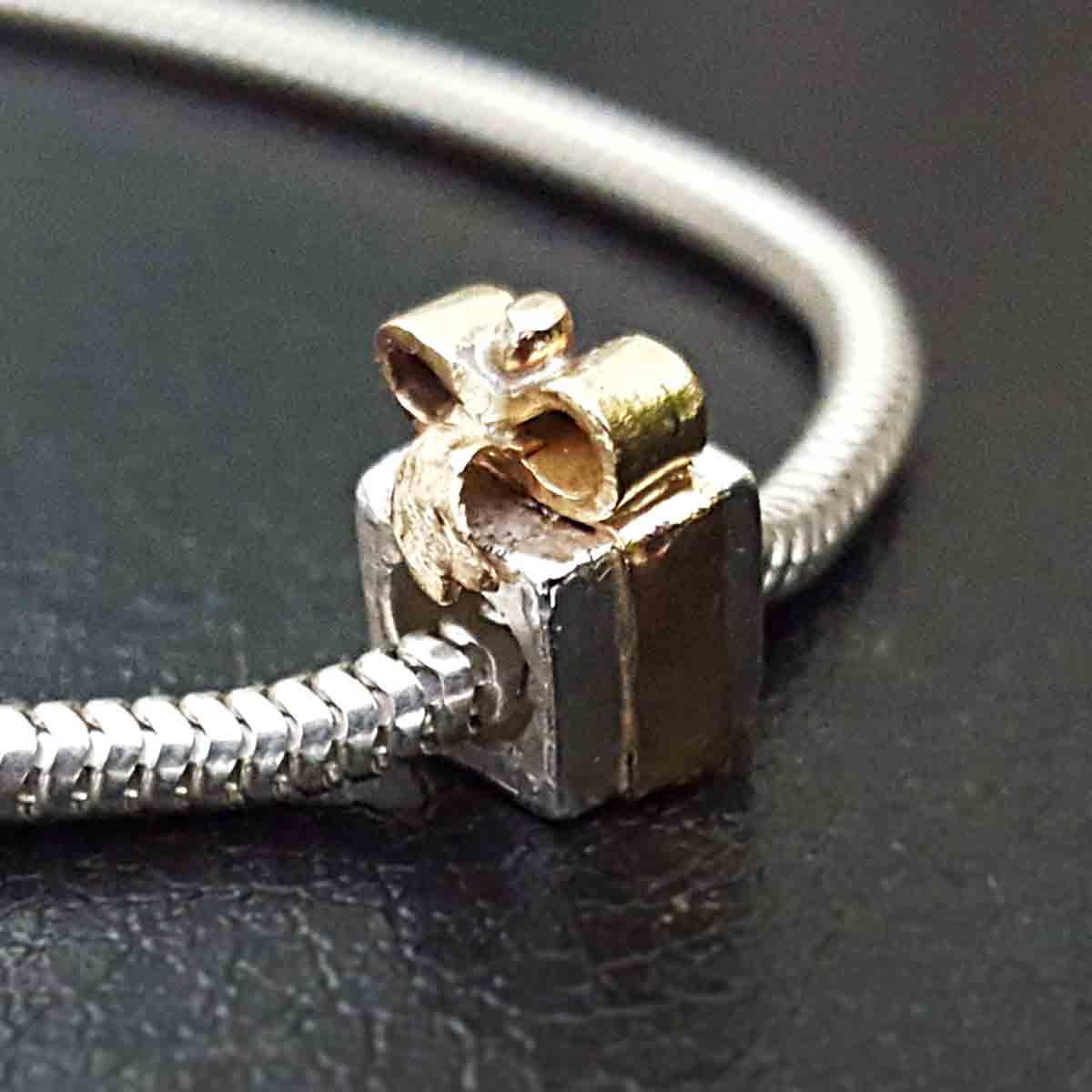 custom pandora charm / bead